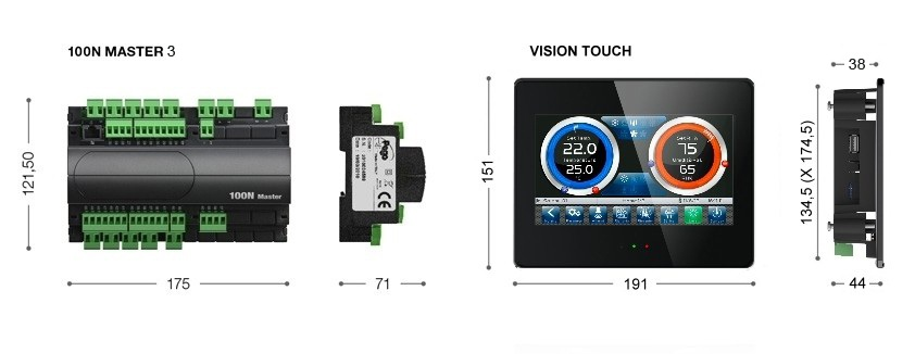 Pego 100N MASTER + VISION TOUCH