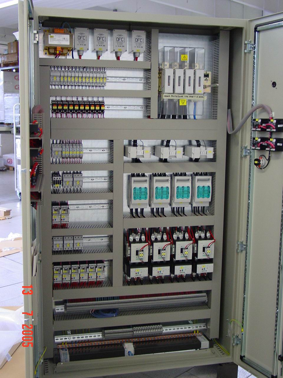 PEGO - Customized control panels for refrigeration plants.